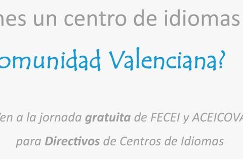 FECEI Programa Castellón web 480x320 - Jornada para directivos de centros privados de idiomas de FECEI y ACEICOVA en la Comunidad Valenciana
