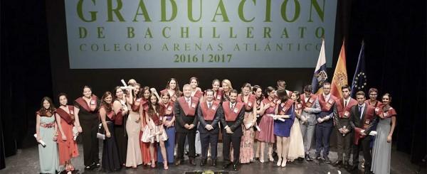 graducacion bachillerato 2017 colegio arenas 600x245 - El Colegio Internacional Costa Adeje amplía sus instalaciones