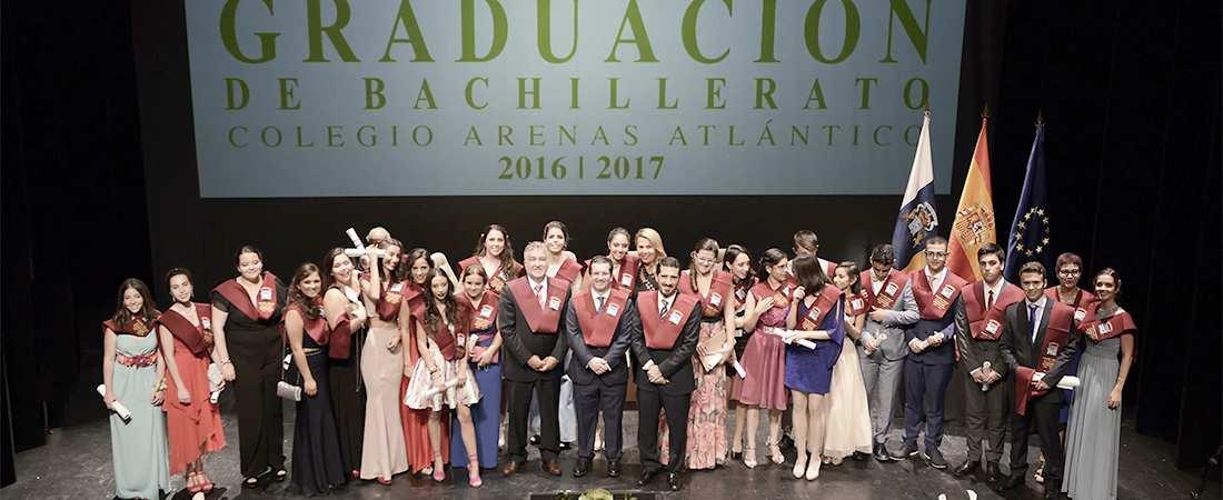 graducacion bachillerato 2017 colegio arenas