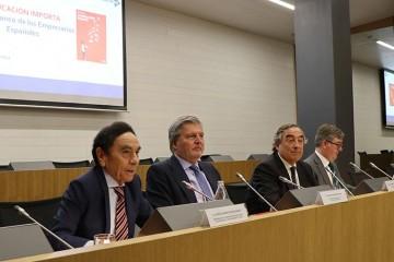 Méndez de Vigo, Joan Rosell y Jesús Núñez presentaron el Libro `La educación importa: Libro Blanco de los empresarios españoles´