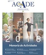 portada memoria acade 2016 - Celebrada la Asamblea General Ordinaria de ACADE