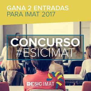 CONCURSO Imat 2 300x300 - Simposio Internacional de Innovación Aplicada (IMAT 2017) organizado por el ESIC Bussines & Marketing School el 28, 29 y 30 de junio en Valencia