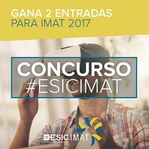 CONCURSO Imat 3 300x300 - Simposio Internacional de Innovación Aplicada (IMAT 2017) organizado por el ESIC Bussines & Marketing School el 28, 29 y 30 de junio en Valencia