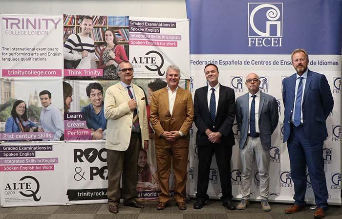 familia Fecei Trinity - FECEI y Trinity College London firman un acuerdo para promocionar el aprendizaje y la evaluación del inglés