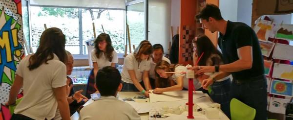 proyecto retotech colegio europeo 2017 600x245 - El Colegio Europeo de Madrid incluye un programa de radio y televisión en su proyecto educativo