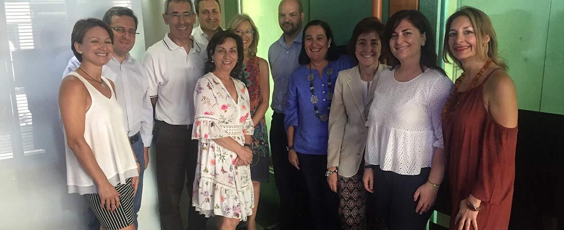 reunion Acade Aragon web - Reunión de representantes de la delegación de ACADE en Aragón