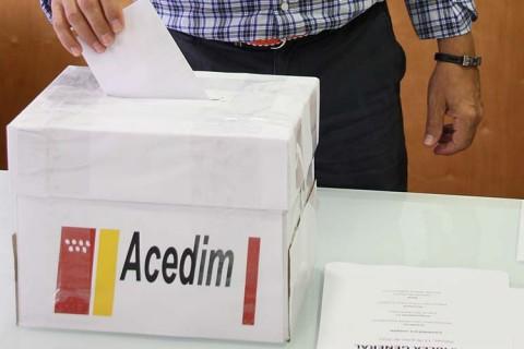 urna acedim web 480x320 - ACEDIM celebra Asamblea General y elecciones el 21 de junio