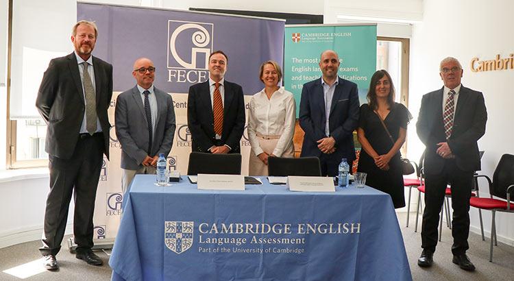 familia fecei Cambridge - FECEI y Cambridge English formalizan un marco de colaboración para asesorar en esta certificación a los centros asociados