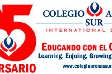 El colegio Arenas Sur celebra este curso su aniversario con el lema 25 años Educando con Corazón