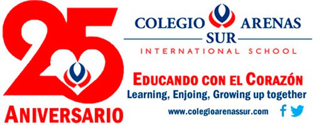 25 aniversario arenas 1100x440 web - El colegio Arenas Sur celebra este curso su aniversario con el lema 25 años Educando con Corazón
