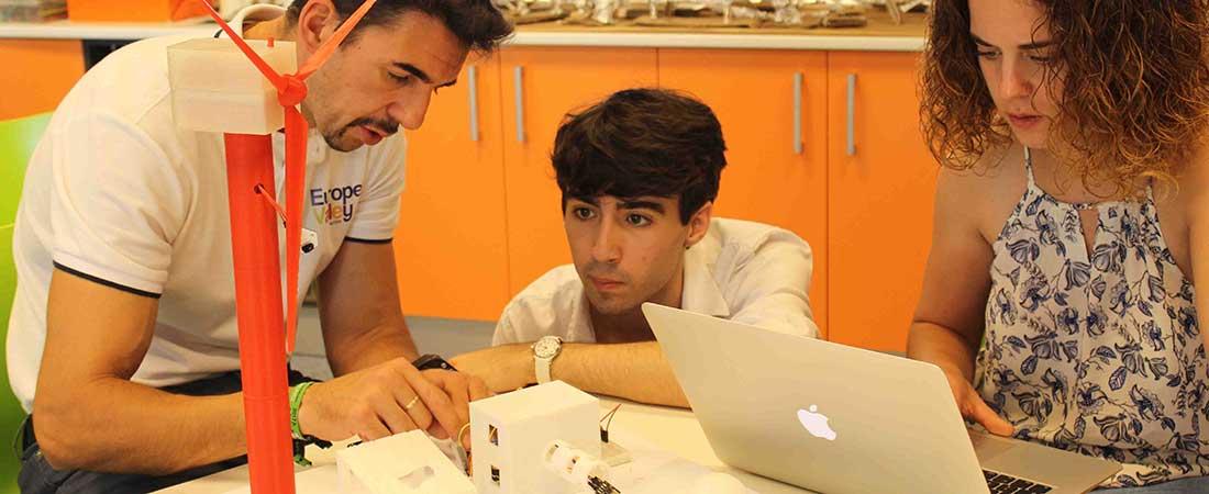Desarrollo Proyecto ION Colegio Europeo de Madrid - Alumnos del colegio Europeo de Madrid presentarán su Proyecto ION en South Summit