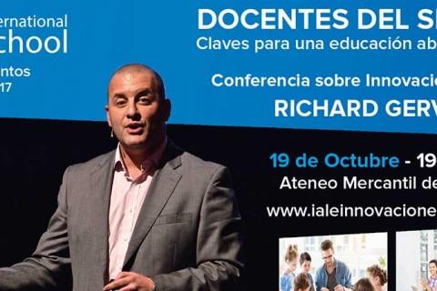 IALE INVITACION RICHARD GERVER 2 1 480x320 - Richard Gerver impartirá una conferencia dentro de los actos del 50 aniversario del colegio Iale
