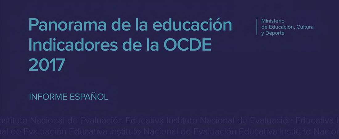 Panorama de la educacion 2017 portada - Las cifras de España en el Panorama de la Educación de la OCDE