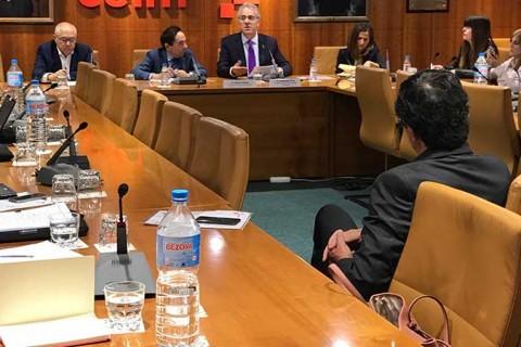 comision educacion ceoe ceim 480x320 - El presidente de la CRUE analiza el futuro de la universidad española en las comisión de Educación de CEOE y CEIM