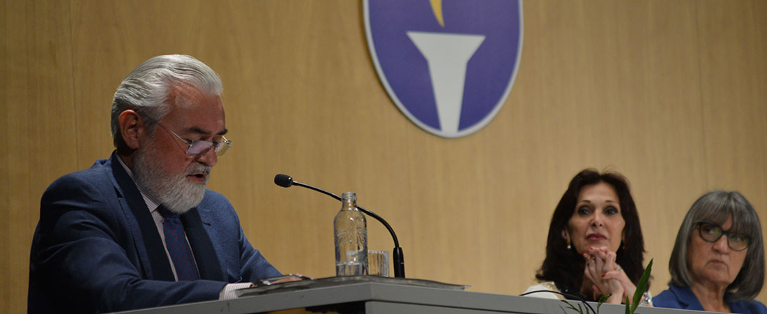 pleteiro RAE - Darío Villanueva, director de la Real Academia Española de la Lengua, inaugura el curso en Peleteiro