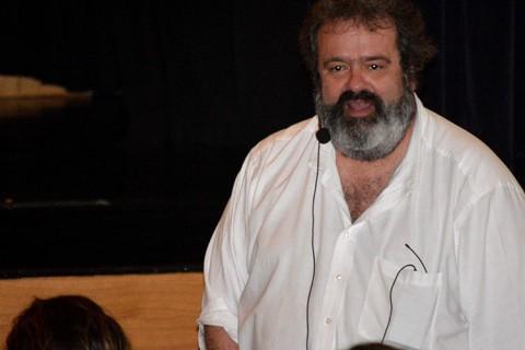 Bruno della Chiesa peleteiro 480x320 - El profesor en Harvard Bruno della Chiesa impartió dos seminarios en el colegio Peleteiro