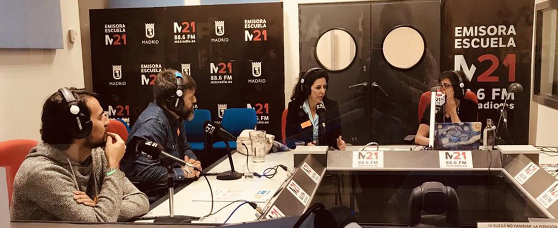 Marta del Pozo en Radio M21web - Colegio Base habla de neuroeducación en Radio M21 de Madrid