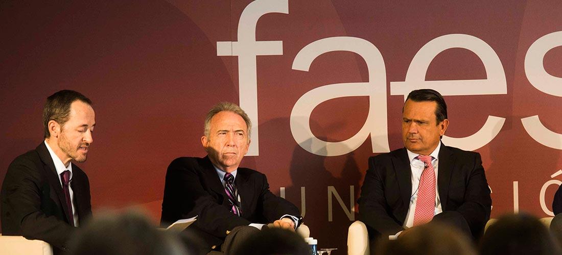 monzonis faes - El presidente de ACADE en la comunidad valenciana defiende la libertad educativa y la desgravación fiscal en el Foro de Ideas de FAES