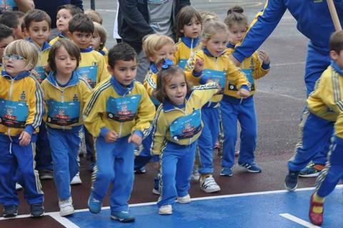 obradoiro carrara leucemia 480x320 - Los alumnos del colegio Obradoiro de A Coruña corren contra la leucemia infantil