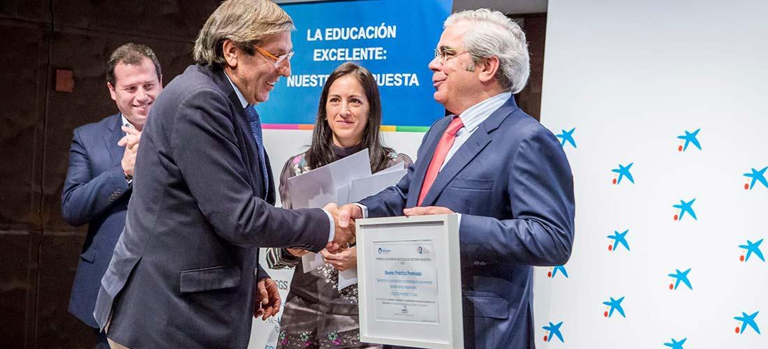 premio Ramon y Caja 1100x500l - Colegios de ACADE en los premios a las Buenas Prácticas en la Gestión Educativa del Club de Excelencia en Gestión