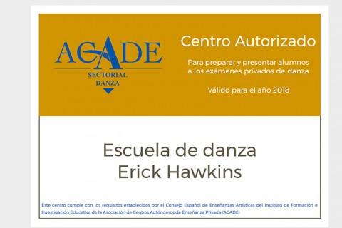 Certificado Pertenencia 2018 Web 480x320 - Certificados de pertenencia a ACADE de las escuelas de danza para 2018