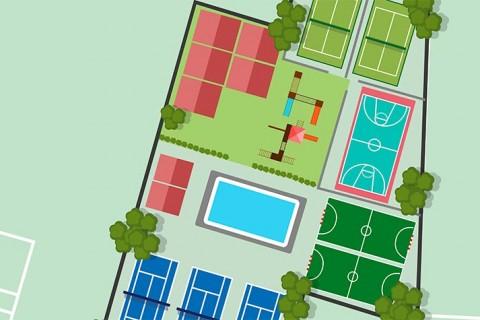 Plano Simulación Parcela Deportiva Colegio Camarena Canet 480x320 - El colegio Camarena Canet creará una Ciudad Deportiva y ampliará su oferta educativa con Formación Profesional