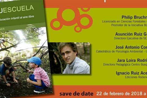 presentacion libro bosquescuela 480x320 - Presentación del libro Bosquescuela, guía para la educación infantil al aire libre