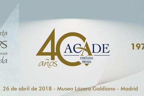 CAbecera 40 Aniversario ACADE