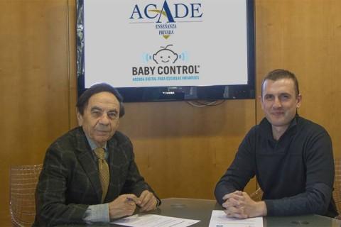 IN Firma Acuerdo Baby Control 2018 480x320 - Ofertas exclusivas de Baby Control para escuelas infantiles en la renovación del acuerdo con ACADE