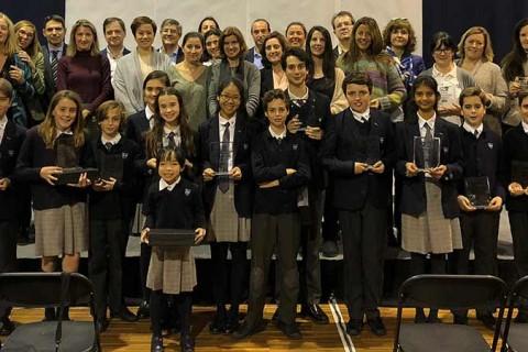 X ANIVERSARIO colegio internacional aravaca 480x320 - Javier Urra apadrina el décimo aniversario del colegio Internacional Aravaca