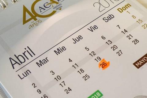 cabecera calendario 40 aniversario 480x320 - Acompáñanos el 26 de abril. Celebra 40 años de la educación privada