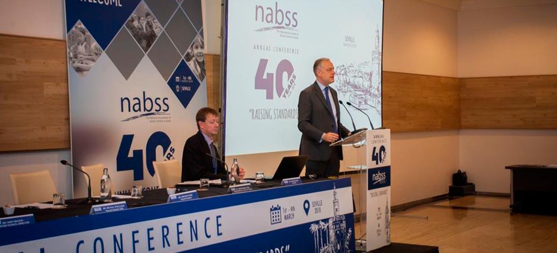 nabss 40 congreso - El embajador británico inauguró el 40 Congreso de NABSS en Sevilla