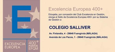 IN EFQM 400 Salliver 480x218 - Los Sellos de Excelencia EFQM amplían a tres años su vigencia