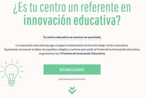 IN Premios Innovación educativa 480x320 - Primera edición de los premios Innovación Educativa, de nuestro patrocinador eim
