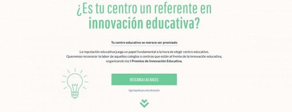 IN Premios Innovación educativa 600x231 - El Mundo De Mozart finalista de los Premios de Innovación Educativa 2018