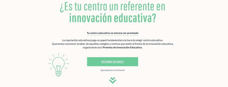 IN Premios Innovación educativa - Primera edición de los premios Innovación Educativa, de nuestro patrocinador eim