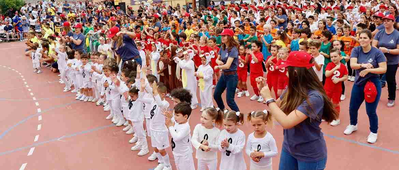 IN XXV Olimpiada Arenas Sur - El colegio Arenas Sur inaugura la XXV Olimpiada