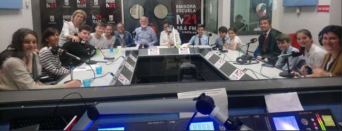 IN mobile learning colegio base - El colegio Base habla en la radio sobre mobile learning