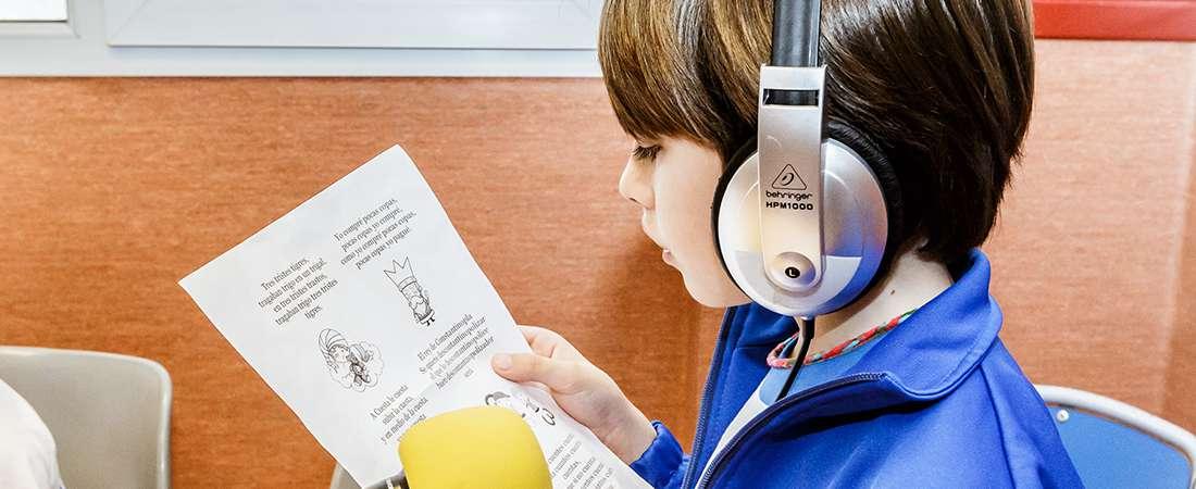 IN proyecto radio colegio europeo madrid - El vicepresidente Andalucía inaugura el nuevo edificio de Educación Infantil de LAUDE El Altillo School