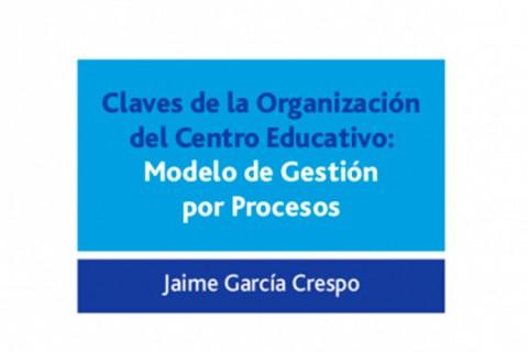 libro jaime garcia 480x320 - Jaime García presenta su segundo libro `Claves de la organización del centro educativo´
