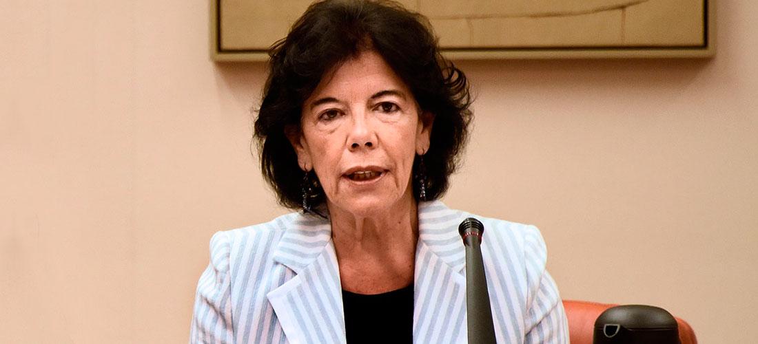 ministra educacion web - Propuestas de reformas del Gobierno socialista
