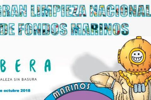 cartel 1 480x320 - Laude Fontenebro School participará en una limpieza de fondos marinos