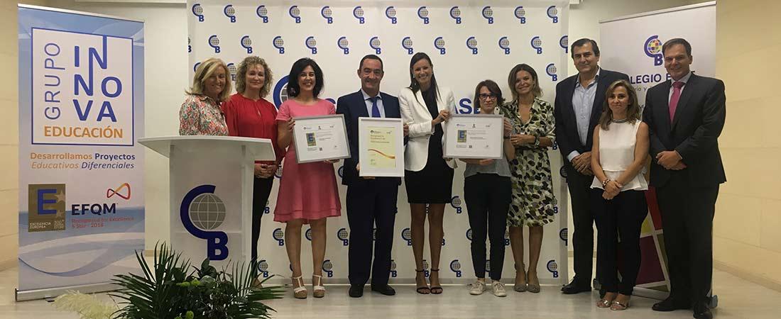 colegio Base sello calidad - Grupo Innova Educación obtiene el Sello de Excelencia Europea EFQM 500+