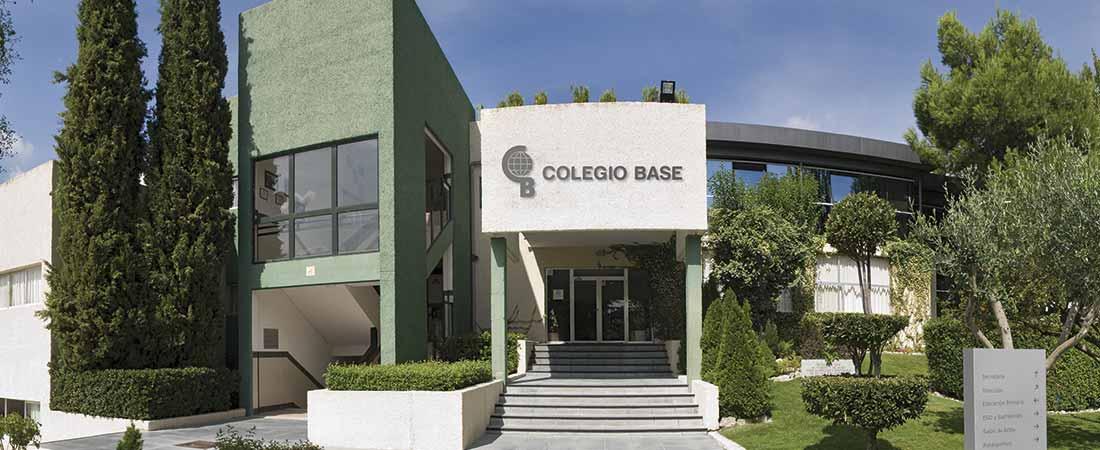 colegio base entrada 1 - Fundación Endesa selecciona a Laude Fontenebro School para participar en RETO TECH 2018