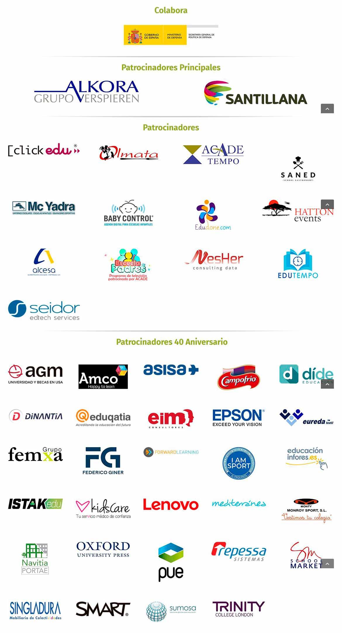 Patrocinadores – Eventos ACADE - Ya tienes autobuses entre Alicante y el hotel Meliá Villaitana en la Convención ACADE 2018
