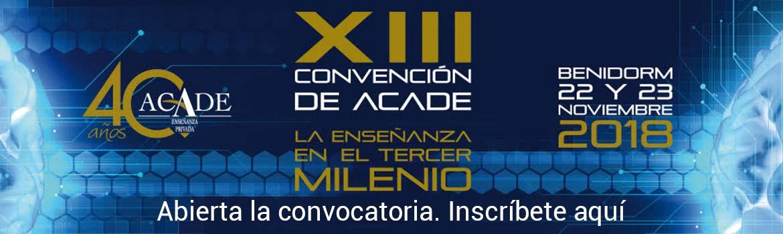 banner convencion 2018 incripcion - Aforo completo en ACADEEDU FORUMMadrid el próximo 23 de octubre