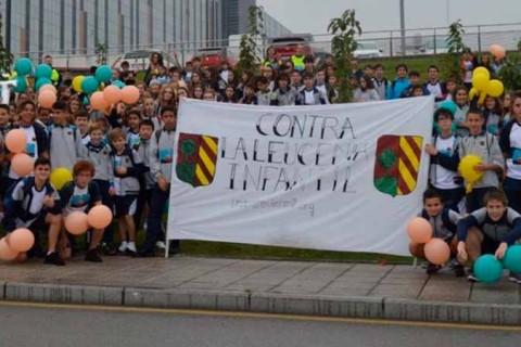 carrera solidaria palacio granda 480x320 - El Palacio de Granda le da la vuelta al cole contra la leucemia infantil