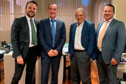 reunion miguel soler 480x320 - Los presidentes nacional y de la comunidad valenciana de ACADE y el vicepresidente trasladan al secretario autonómico de Educación la situación de la educación privada en la comunidad