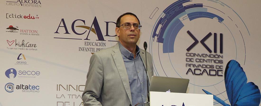 Bracho - El presidente de la sectorial de escuelas infantiles de Andalucía participó en la Mesa del sector