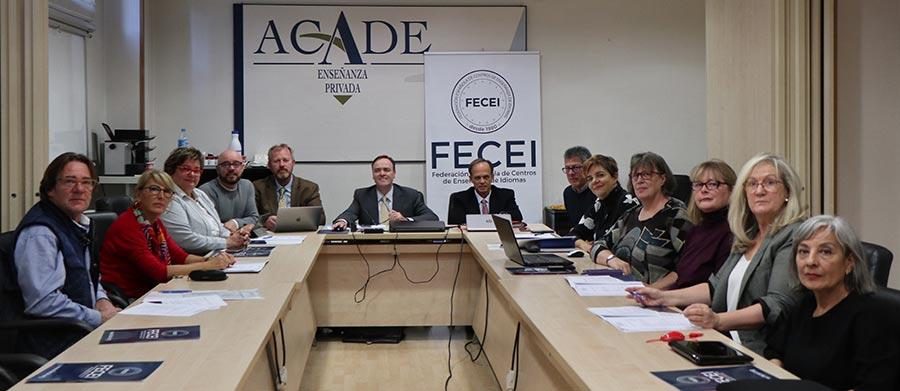 comite fecei octubre 2018 - El presidente y el tesorero de FECEI se reúnen con Juan Santiago